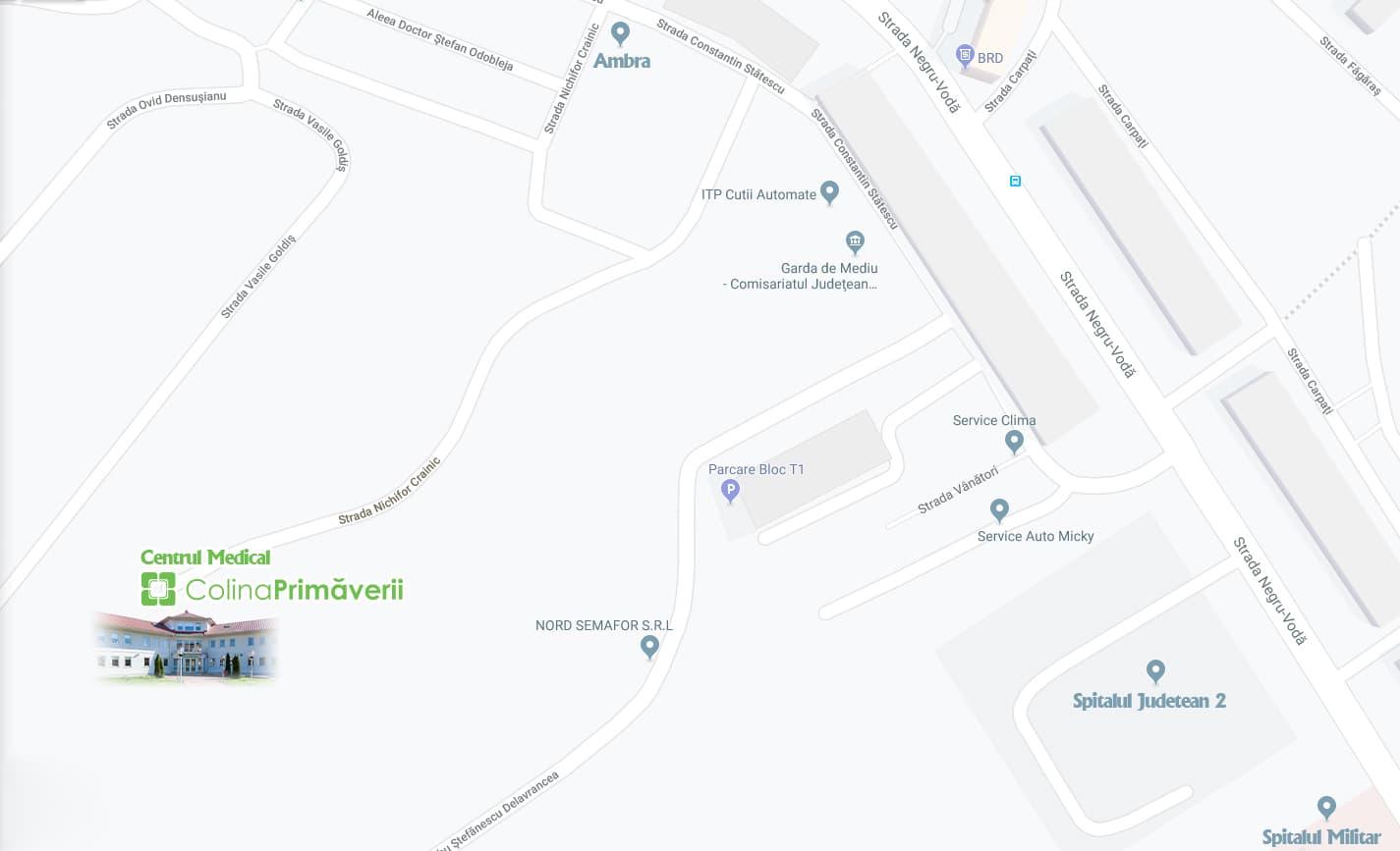 Harta Colina Primaverii